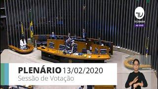 Plenário - Sessão para votação de propostas legislativas - 13/02/2020 09:00