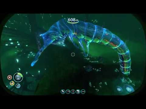 Subnautica - NEW GHOST LEVIATHAN DEATH ANIMATION, FINALIZED