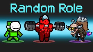 *NEW MAP* RANDOM ROLES *5* Mod in Among Us