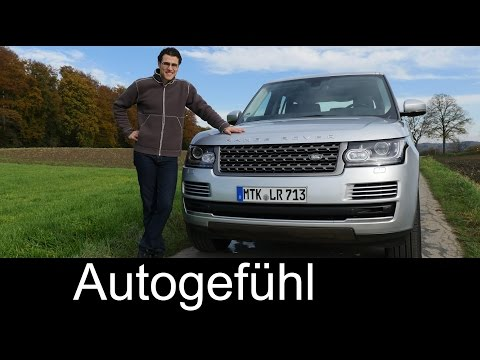 2015 The Range Rover test drive REVIEW - Autogefühl