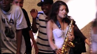 George Michael - Saxy Sax Girl in New York: Careless Whisperer Prank