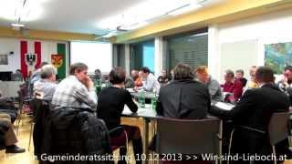 preview picture of video 'Lieboch Gemeinderatssitzung 10.12.2013 Teil 8 - Die Abstimmung'