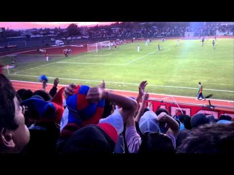 """banda azulgrana vs osorno 2012"" Barra: Banda Azulgrana • Club: Deportes Iberia"