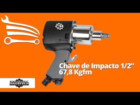 Chave de Impacto Industrial 1/2 Pol. 67,80Kgfm - Video