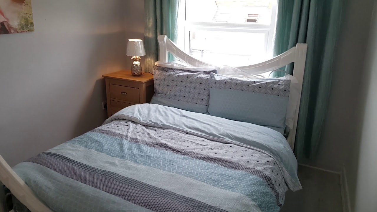 Double bed in Lovely rooms to rent in houseshare in Downtown Dublin, near St. Patrick's Cathedral