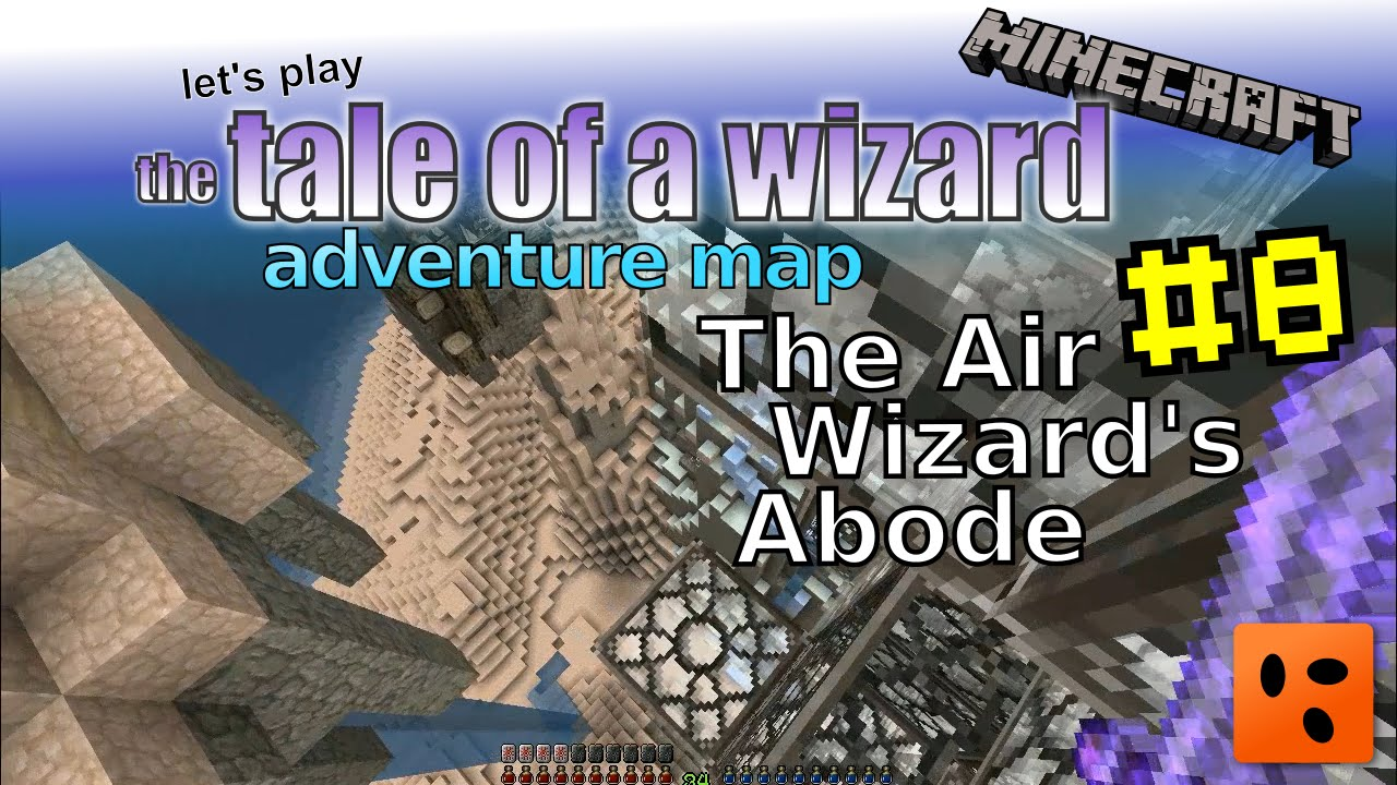 Tale of a Wizard | Minecraft Adventure Map #8 | The Air Wizard's Abode