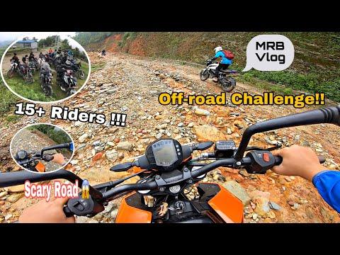 Craziest Offroad Ride With MRB Vlog | Mattikhan Danda | Vloggers Meetup|Part 1