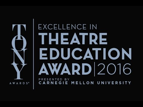 Applaud My Teacher - DEADLINE EXTENDED for 2016 Excellence in Theatre Education Award