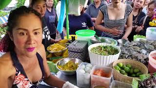 คลิปเจ้เบียร์ ยำซาเลังยุคแรก ยำสู้ชีวิต เจ้เบียร์ คนละยำ Raw  Spicy Seafood Mango Salad Thailand