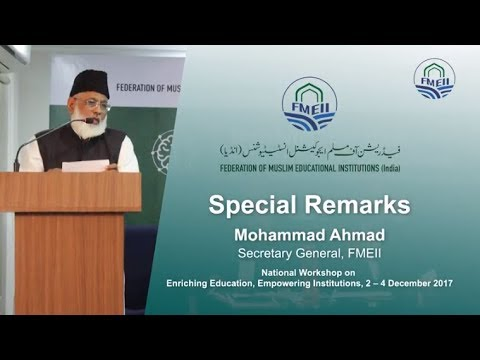 Special Remarks || FMEII Workshop ..