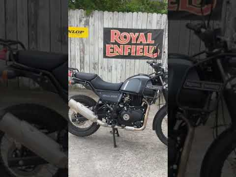2021 Royal Enfield Himalayan 411 EFI ABS in Charleston, South Carolina - Video 1