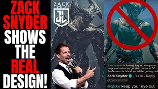 Zack Snyder Reveals Steppenwolf! | Answers Questions About Zack Snyders Justice League!