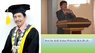Ujian Doktor Di UIN Sunan Kalijaga Oleh Prof. K.H. Yudian Wahyudi, MA, Ph, D.