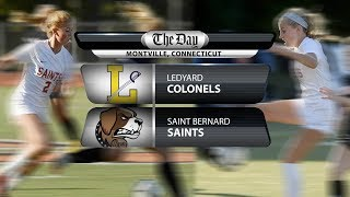 Full replay: Ledyard at St. Bernard girls' soccer