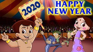 Chhota Bheem - New Year Eve Celebration in Dholakpur   New Year Special   Hindi Cartoon for Kids