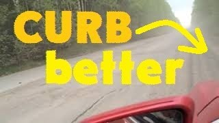 when the CURB is better than the ROAD когда ОБОЧИНА лучше ДОРОГИ / убитый асфальт плохое покпытие