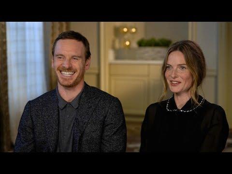 Michael Fassbender and Rebecca Ferguson discuss their new horror film 'The Snowman'