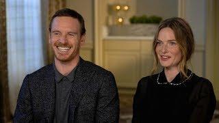 Michael Fassbender and Rebecca Ferguson discuss their new horror film 'The Snowman' | Kholo.pk