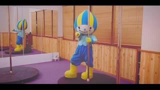 ミナモがポールダンス?!?!