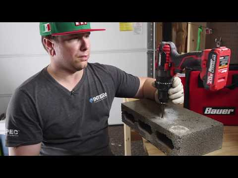 Tool Review: Harbor Freight's Bauer 20 Volt Hammer Drill