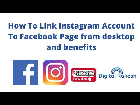 How To Link Instagram Account To Facebook Page from desktop and benefits