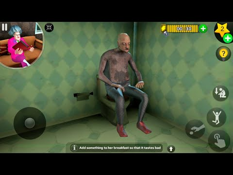 Scary Teacher 3D - Special Levels Control Grandpa in Scary House (Android/iOS)