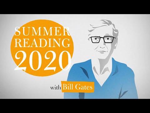 【洋書多読】ビル・ゲイツが選ぶ2020年夏に読むべき5冊