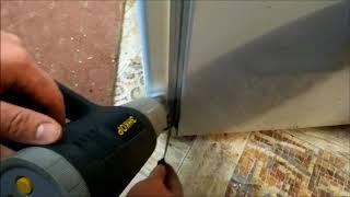 Уплотнитель двери холодильника Стинол RF345A (морозильная камера) _015: 65,5х57 см от компании НОВЫЙ ПРОФИЛЬ - видео 1
