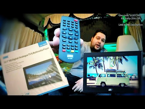 August DA100D   The BEST Portable TV for Camping 2019!