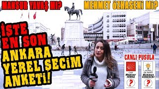 Ankara'yı Kim Kazanacak? İşte En Son ve En Doğru Ankara Yerel Seçim Anketi!