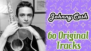 Johnny Cash - 60 Original Tracks - Music Legends Book