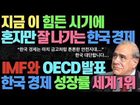 이 시국에 혼자 너무 잘 나가는 한국 경제
