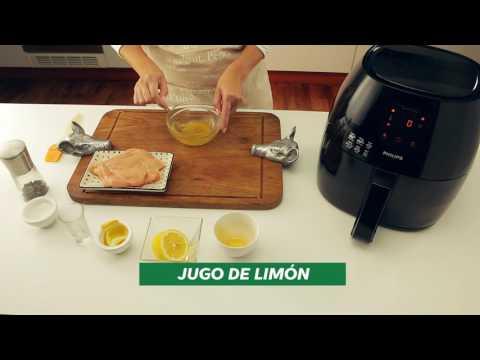 Pollo al limón en Philips Airfryer