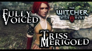 Skyrim SE: Triss Merigold from the Witcher! Voiced Follower!
