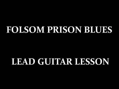 Folsom Prison Blues Free Guitar Lesson with Tab and Backing Track