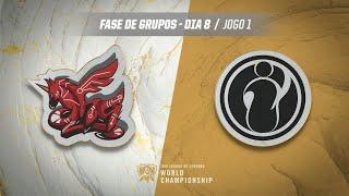 Mundial 2019: Fase de Grupos - Dia 8 | ahq eSports Club x Invictus Gaming (Jogo 1)