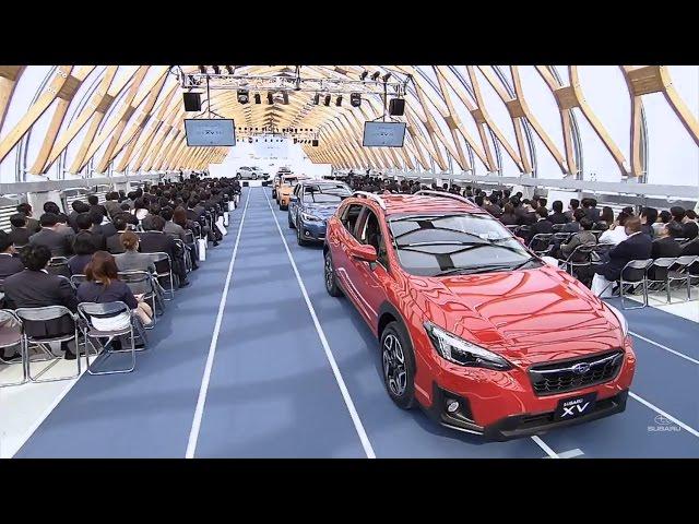 新型SUBARU XV :2017年4月6日「NEW SUBARU XV発表会」ライブ映像