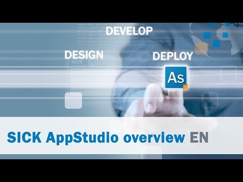 SICK AppSpace: AppStudio overview | SICK AG