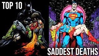 10 Saddest Deaths from Marvel & DC