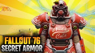Fallout 76 Secret NUKA COLA POWER ARMOR Location Guide! (Fallout 76 Unique Rare Power Armor)