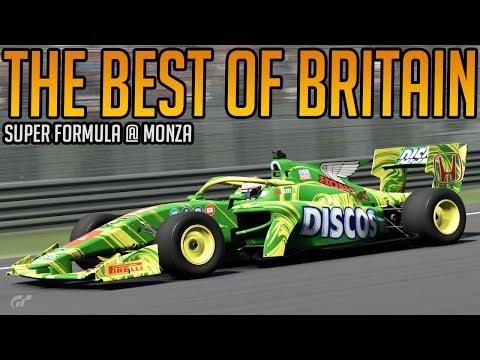 Gran Turismo Sport: Best of Britain   Super Formula - Monza