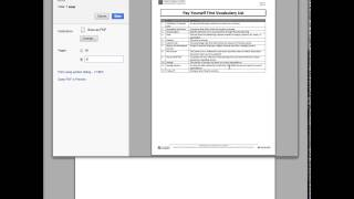 saving certain pages as pdf