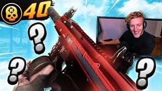 the NEW ISO SMG! 40 KILLS SOLOS... (Modern Warfare Warzone)