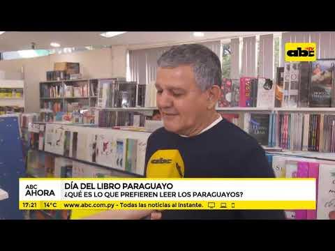 Día del libro paraguayo