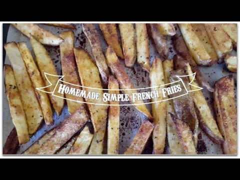 , title : 'How to Use Up Sprouted Potatoes Homemade French Fries Recipe, Vegan