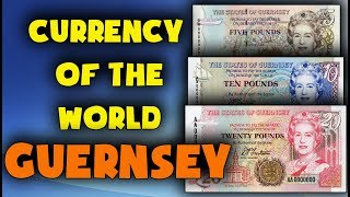 Currency of the world - Guernsey. Guernsey pound. Exchange rates Guernsey.  Guernsey banknotes