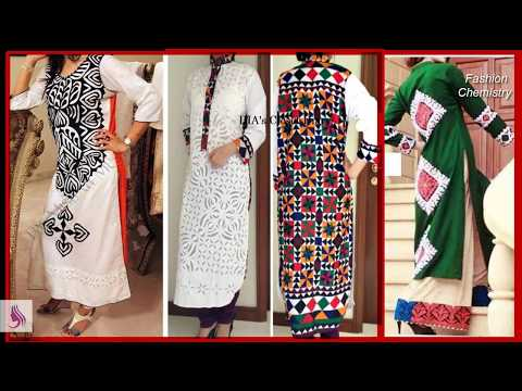 Best designs and styles of aplicaplique work for kurtis and full