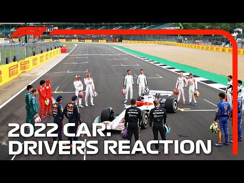 現役F1ドライバーが2022年のF1マシンとご対面。現役F1ドライバーのファーストリアクションはいかに?