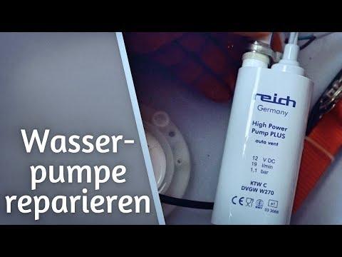 DIY: Wasserpumpe im Wohnmobil austauschen & reparieren