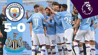 HIGHLIGHTS | Man City 5-0 Newcastle | Jesus, Mahrez, Silva, Sterling